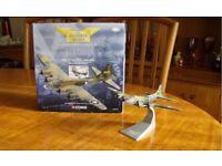 "Model Aircraft. 1:144 Corgi Aviation Archive AA31103 B17E ""YANKEE DOODLE"" Flying Fortress."