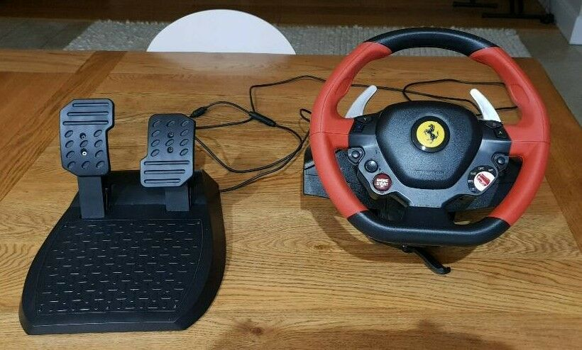 Thrustmaster Ferrari 458 Spider Racing Wheel For Xbox One In Reigate Surrey Gumtree