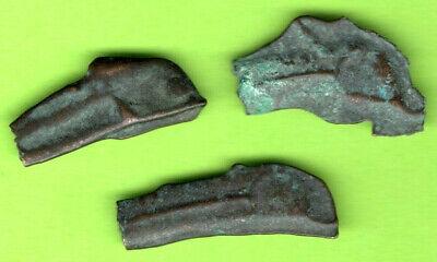 Sarmatia OLBIA Cast Proto Money DOLPHIN 5th BC Ukraine Russia Lot of 3 pc.80