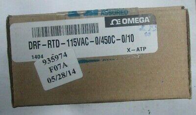 Omega Engineering Drf-rtd-115vac-0450c-010 Current Signal Conditioner