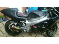 SUZUKI GSXR 600 SRAD A2 LEGAL 12 MONTHS MOT BARGAIN swap sports bike fast cheap bmw drift?