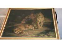 Leopard wall picture