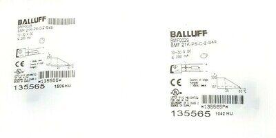Lot Of 2 New In Bag Balluff Bmf 21k-ps-c-2-s49 Magnetic Field Sensors Bmf0029