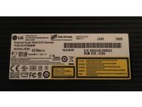 LG External Super Multi DVD Rewriter