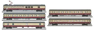 Beige Spur (Trix Spur N 15860.002 DB AG VI Rheingoldwagenset W13+ rot/beige NEU/OVP)