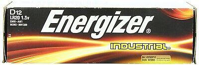 Energizer Industrial D Cell Alkaline Battery 12 Pack EN95