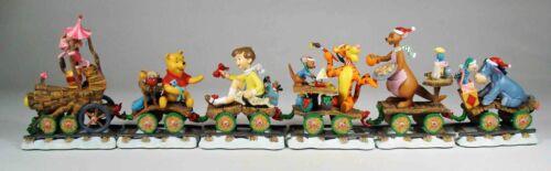 Danbury Mint:  Piglet Holiday Train, Winnie the Pooh