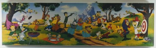 """Company Picnic"" Limited Edition Giclee GALLERY-WRAPPED Hanna-Barbera Cook-out"
