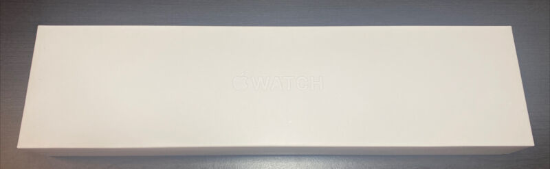 Apple Watch Series 6 44MM Blue - EMPTY BOX and papers Only