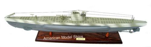 "German U-Boat Submarine Model 39"" - Handcrafted Wooden Model NEW"