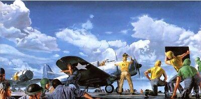 Douglas SBD Dauntless – BEST ON DECK Art Print Painted by James Dietz –