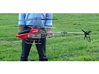 """X LARGE REMOTE CONTROL RC HELICOPTER BR6508 130CM - 51"""" 3.5 CHANNELS GYRO. TOP QUALITY EASY TO FLY"""