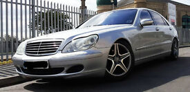Mercedes S500L 'LWB' ALL EXTRAS.