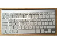 Apple Wireless Keyboard A1255 Bluetooth cordless for Mac computers or laptops