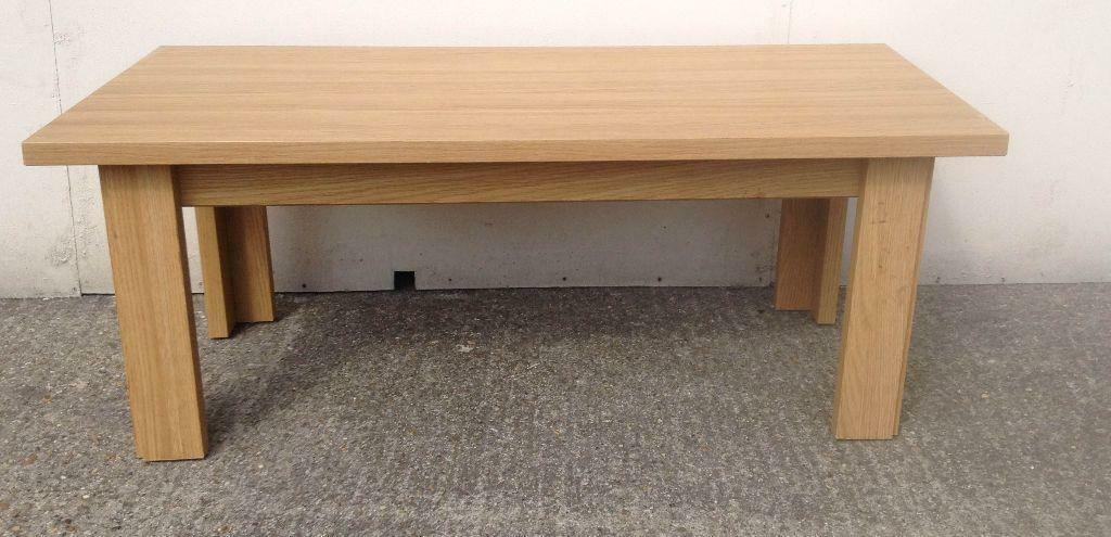 Beech Rectangular Coffee Table In Bedford Bedfordshire Gumtree