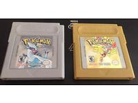 POKEMON SILVER & GOLD FOR GAMEBOY