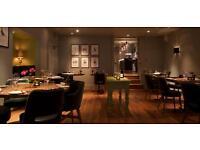 Full Time Restaurant Supervisor, Immediate Start. 3AA Rosette Restaurant