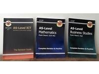 CGP AS LEVEL REVISION & PRACTICE