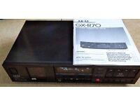 Akai GX-R70 VINTAGE (1986/87) HIGH END Auto Reverse Stereo Cassette Deck