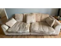A 2 and a 3 seater sofa need going ASAP