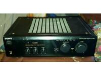 SONY TA-F248E AMPLIFIER IN GREAT FULLY WORKING CONDITION