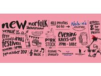 Porkstock 2017 Norfolk Showground Tickets for sale, an evening of (porky) food, drink and live music