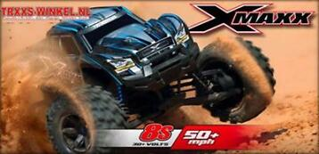 Traxxas X-maxx 8s Brushless Rc auto Monstertruck bij TRXXS