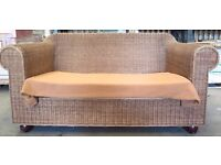Lovely Wicker Sofa / Settee. Suit conservatory ??