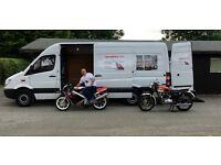 merc sprinter lwb high top low milage good condition NO VAT NO VAT private sale