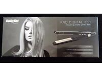 BaByliss PRO DIGITAL 230 SMOOTHING CERAMIC, PERFECT SHINE STRAIGHTENERS - SLIM NANO - BRAND NEW