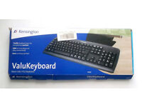 Black Kensington (USB, Keyboard) for Windows, Linux, Mac