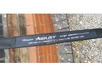 Shakespear agility 20 foot power match fishing pole