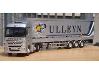 Corgi CC13823, Mercedes Actros Container Trailer Pulleyn Transport Ltd, 1:50