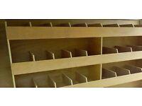 Van custom order plywood storage systems, racks, shelves, repairs - Heathrow