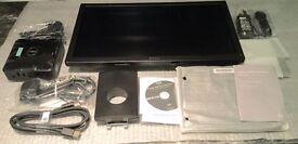 """Dell E2016H 20"""" Monitor (Black) and Inspiron J1800 Desktop Micro Box Computer"""
