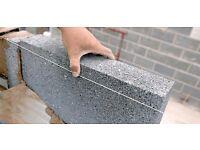 One pack of 96 PLASMOR FIBOLITE 7.3n high strength solid block