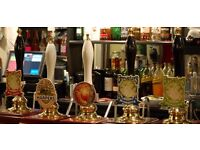 Bar Staff needed for the Marquis of Granby, Granby, Nottinghamshire