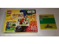 LEGO 10654 XL Creative Brick Box 1600 pieces + 10700 Green Base Plate 32 X 32 Brand New Sealed
