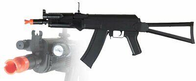 *225 FPS* CYMA P74 AK47 SPRING Airsoft Rifle Gun w/ FlashLig