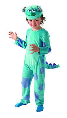 Sulley Deluxe Monster Uni Kinderkostüm Original Kostüm für - Monster Uni Kostüm