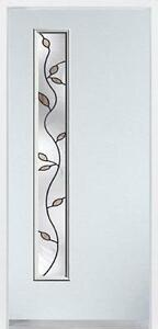 Durabuilt Decorative Glass Steel Exterior Entry Door with Avenlea Glass - We have a large selection of Doors!!