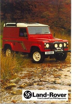 Land Rover Defender GREETING CARD + ENVELOPE - BRAND NEW!!