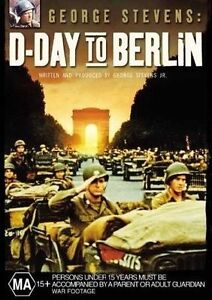 D-Day To Berlin (DVD, Region 4) George Stevens - Brand New, Sealed