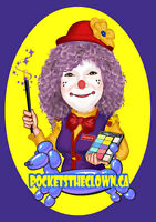 Birthday Clown- face painting, balloons and magic show