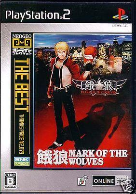 PS2 GAROU MARK OF THE WOLVES NEO GEO BEST (The Best Neo Geo Games)