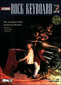 BEGINNING ROCK KEYBOARD BOOK AND CD