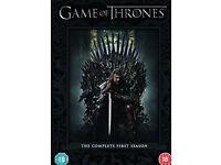 Game of thrones seasons 1 & 2 dvd boxsets