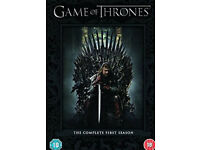 Game of thrones seasons 1 & 2 dvd boxsets