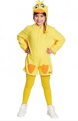 Ente Kostüm Sendung mit der Maus gelb Entenkostüm (Kostüm Sendung)