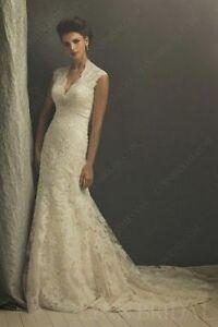altered wedding dress, never worn. can you sew?! St. John's Newfoundland image 1